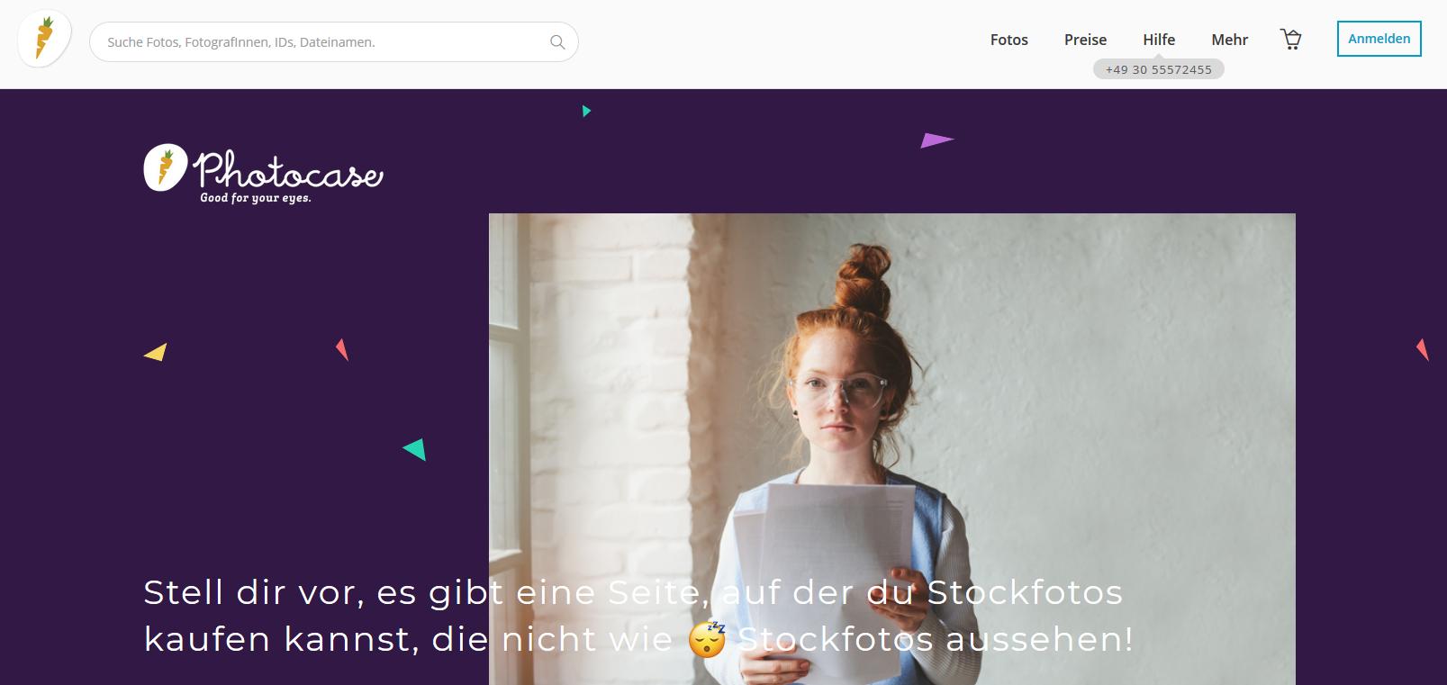 Photocase Stockdatenbank - 8 deutsche Stockdatenbanken, die du noch nicht kennst