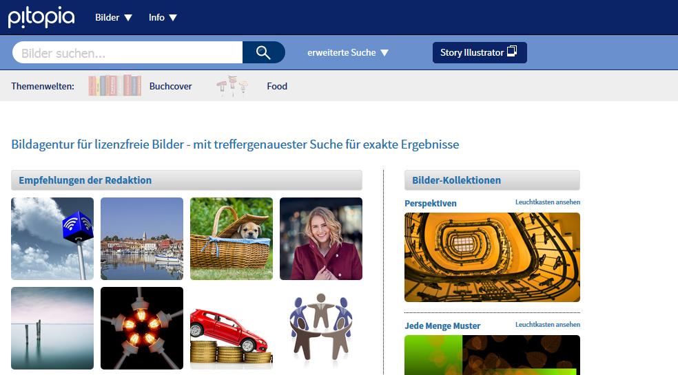 Pitopia Stockdatenbank - 8 deutsche Stockdatenbanken, die du noch nicht kennst